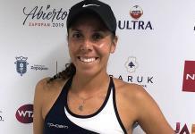Mexicana Giuliana Olmos se despide de Roland Garros