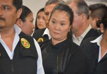 Keiko Fujimori se niega a declarar por caso Odebrecht