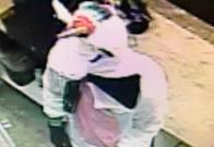 Arrestan a presunto ladrón que usó disfraz de unicornio