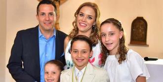 Santiago Torre Torres efectuó su primera comunión