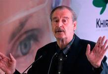 Fox se anuncia como ponente en convención sobre cannabis en Monterrey
