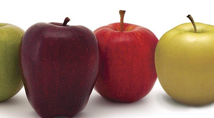 Manzanas, un color para cada uso'>
