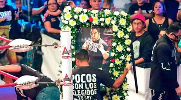 Se cumplen 4 años de la muerte del Hijo del Perro Aguayo'>