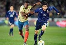 Colombia vence 1-0 a la selección de Japón en partido amistoso