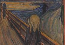 Revelan misterio detrás de la pintura El Grito de Edvard Munch