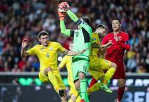 Ucrania sale vivo de Portugal en eliminatorias de la Euro