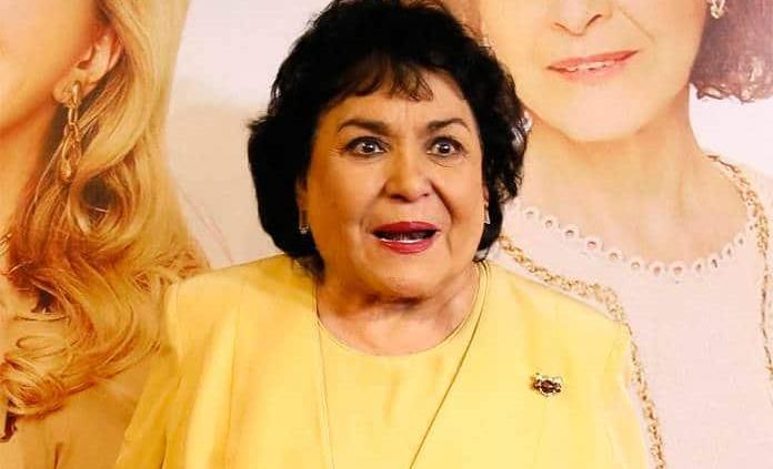 Carmen Salinas se disculpa por comentario racista sobre chinos