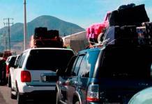 Caravana del Migrante avanza por territorio potosino hacia Querétaro