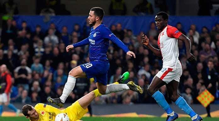 Chelsea avanza a semis en la Europa League'>