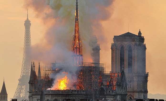 Grandes donantes de Notre Dame todavía no dan ni un centavo