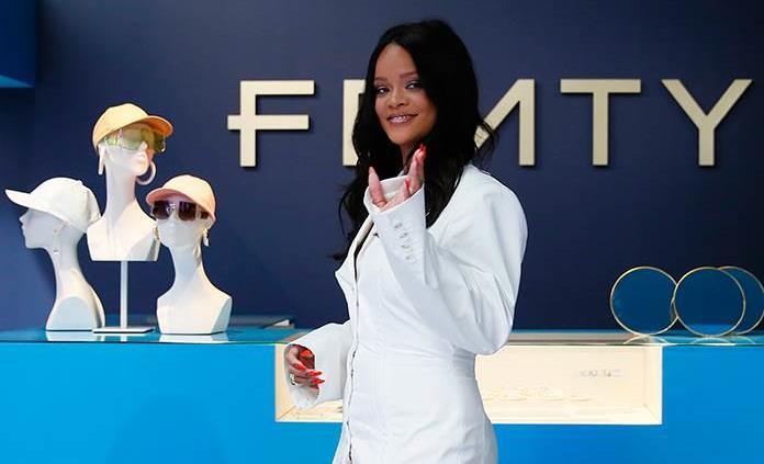 Rihanna, lanza marca de lujo Fenty