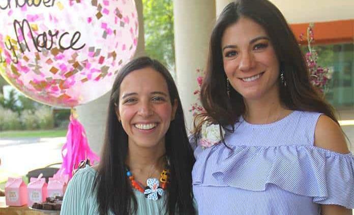 Alejandra Cruz García y Marcela García Vega esperan la llegada de sus bebés