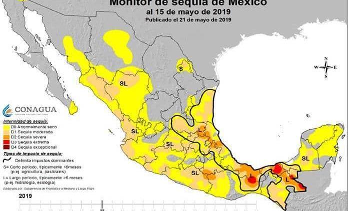 Padece sequía la mayor parte de San Luis P.