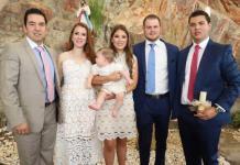 Federico Mendizábal Puente recibió el bautismo