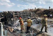 Dan de alta a 23 de 30 heridos por accidente en la Veracruz-Puebla
