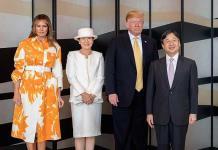 Masako fue la estrella en reunión con Trump y Melania