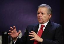 Arturo Zaldívar informa de suspensión de magistrado que revisaba caso Santa Lucía