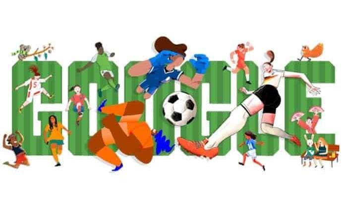 Doodle celebra inicio de la Copa Mundial Femenina de Futbol 2019