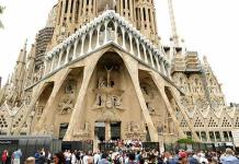 La Sagrada Familia de Barcelona, portada de la revista Time