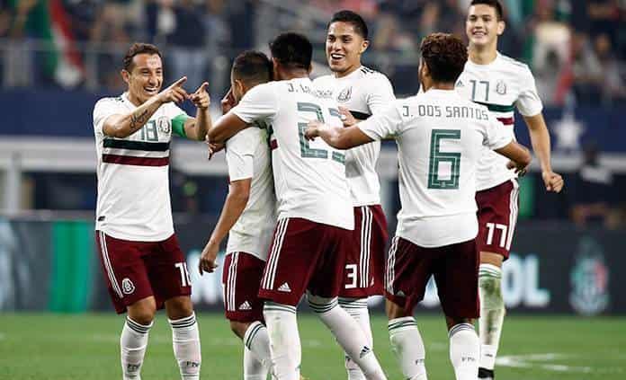 México ocupa lugar 18 del ranking de FIFA, encabezado por Bélgica