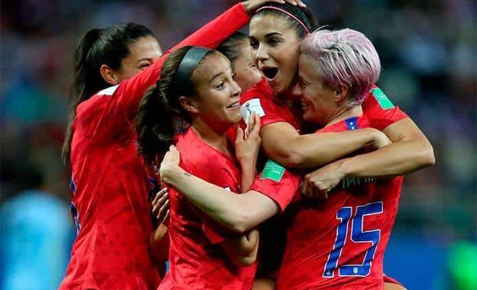EUA consigue la mayor goleada en Mundial Femenil