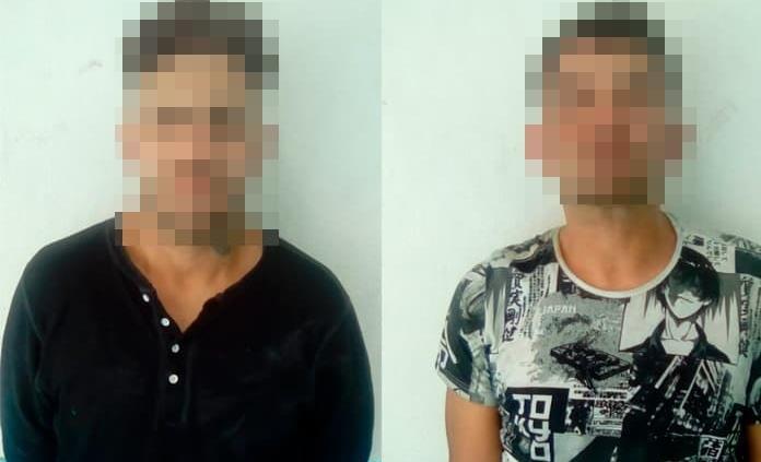 Capturan a dos individuos con droga en Tlaxcala