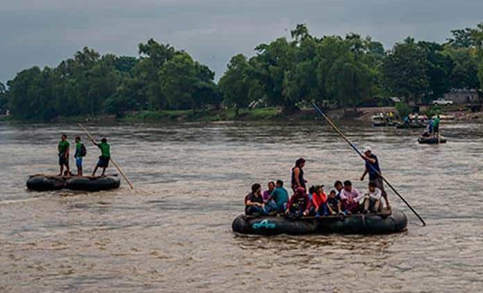 Centroamericanos siguen internándose a nuestro país
