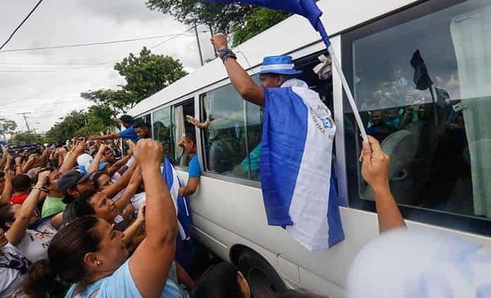 Nicaragua excarcela a líderes opositores