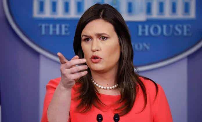 Trump anuncia que Sarah Sanders dejará su cargo de portavoz de la Casa Blanca