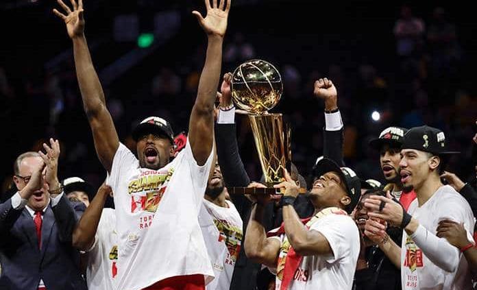 Raptors, campeones de la NBA por primera vez