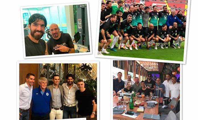 Loco Abreu y Conejo Pérez liman asperezas 15 años después