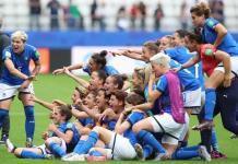 Italia vence 5-0 a Jamaica sin problemas, amarra lugar en octavos