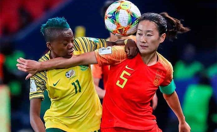 China derrota 1-0 a Sudáfrica y sigue con vida en Mundial