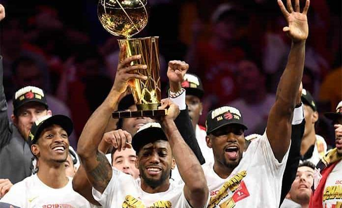 Los Raptors conquistan su 1er. título de NBA