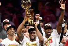 Raptors compartirá título NBA con aficionados durante desfile en Toronto