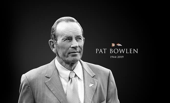 Fallece Pat Bowlen, dueño de los Broncos de Denver