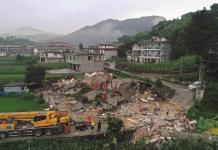 Más de 80 mil personas son evacuadas tras terremoto en el centro de China