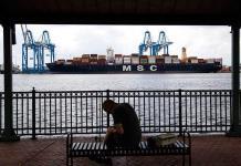 Incautan 16.5 toneladas de cocaína de buque en Filadelfia