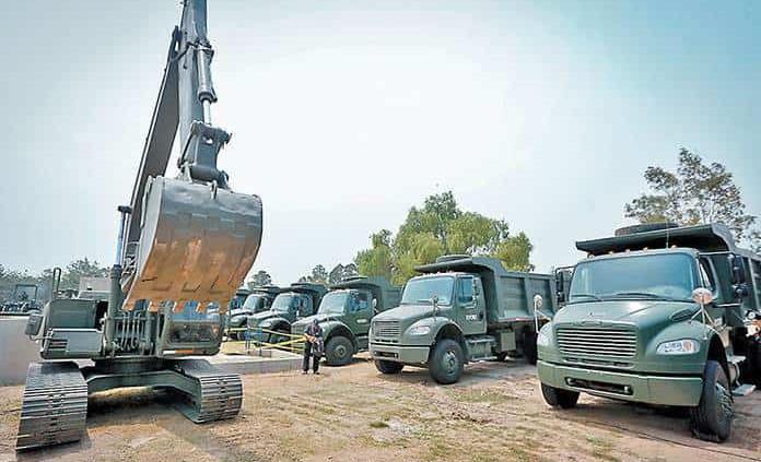 Amparos frenan construcción de NAIM