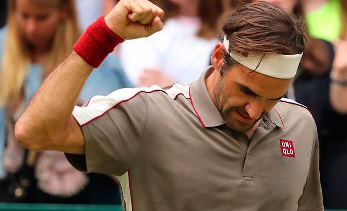 Federer gana a Tsonga y jugará cuartos del torneo de Halle