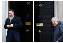 Johnson y Hunt se disputarán el cargo de primer ministro británico