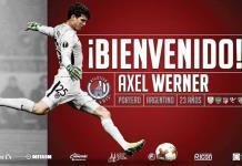 #VIDEO | Atleti de SL hace oficial fichaje de portero Axel Werner