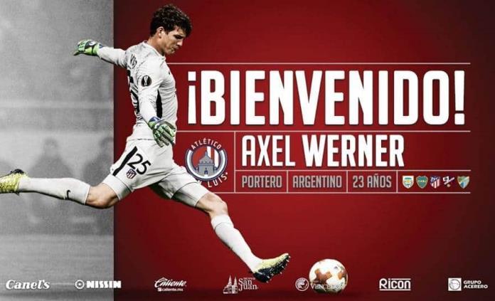 #VIDEO   Atleti de SL hace oficial fichaje de portero Axel Werner