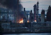 Explosión e incendio en refinería de Filadelfia