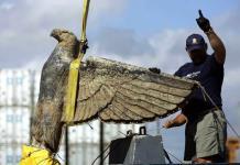 Obligan al Estado uruguayo a vender polémica águila nazi