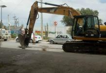 Realizan obras en Periférico Norte para evitar inundaciones con aguas negras en tres colonias