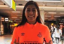 PSV Femenil da bienvenida a portera mexicana Cecilia Santiago