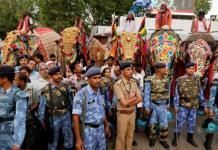 Protestan en la India por largo y peligroso viaje de elefantes