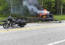 7 muertos y 3 heridos en choque de camión con motos en EEUU