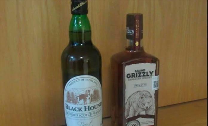 Cae sujeto que intentó robar dos botellas de whisky en centro comercial de la Simón Díaz